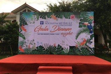 Tổ chức Gala Dinner trên bãi biển Hải Tiến – Hải Tiến Resort
